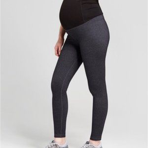 Maternity Grey Full Length Leggings NWT